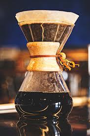 Cafetière et filtre Chemex