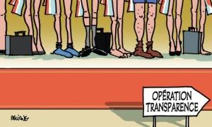 Transparente-operation